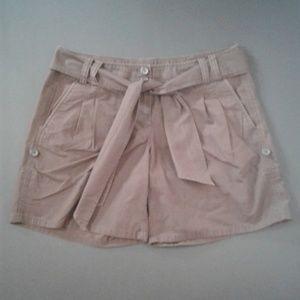 Ann Taylor Loft Chocolate Shorts Size 10